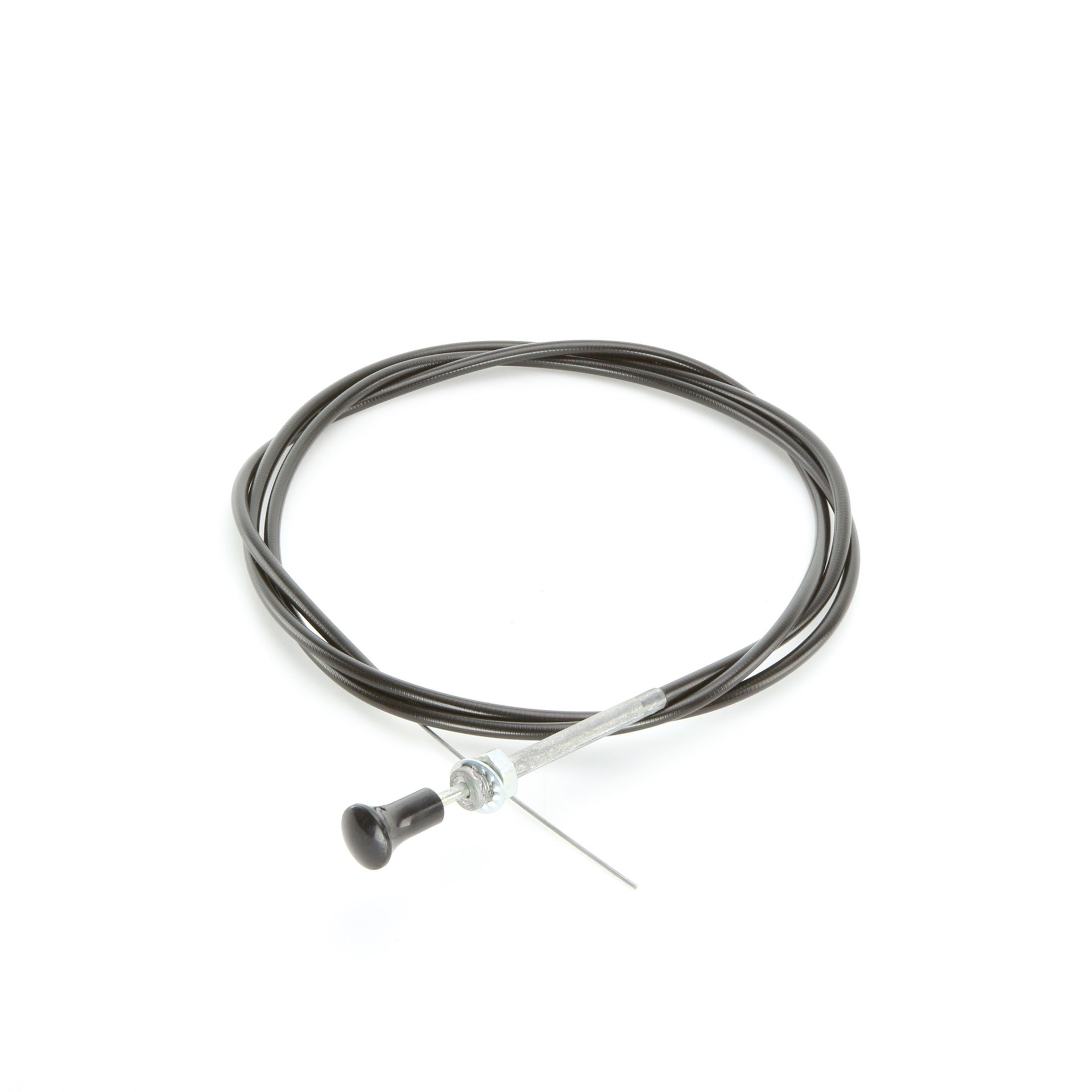 Black Push Pull Cable 6ft Long