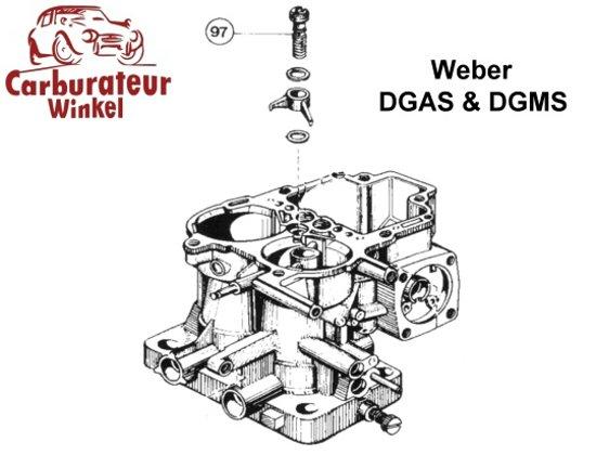 Weber DGAS en DGMS Carburateur Onderdelen