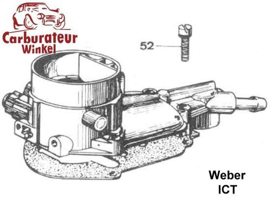 Weber ICT Carburateur Onderdelen