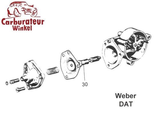Dellorto & Weber Carburateurs, sproeiers, venturi's
