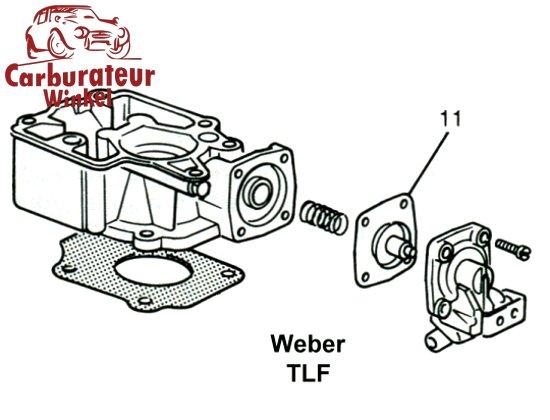 Weber TLF Carburateur Onderdelen
