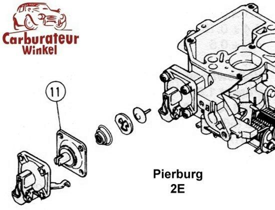 Pierburg 2E Carburateur Onderdelen en Revisie Sets