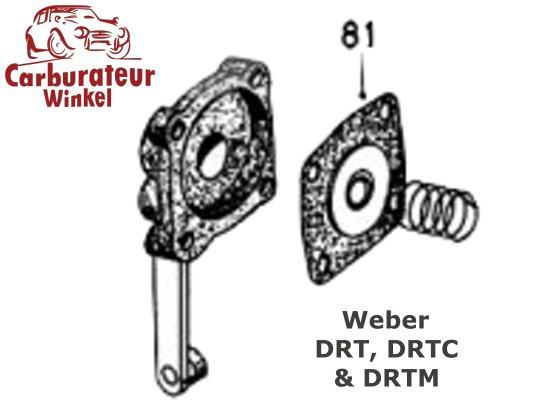 Weber DRT, DRTC en DRTM carburateur Onderdelen