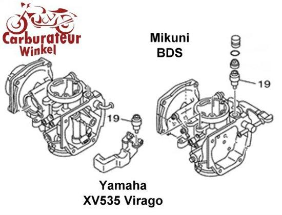 (19) Vlotternaald voor Mikuni BDS Carburateurs voor Yamaha