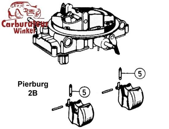 Audi 100 Carburateur Onderdelen en Revisie Sets