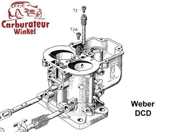 Weber DCD Carburateur Onderdelen