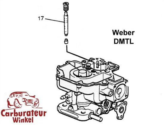Weber DMTL Carburateur Onderdelen
