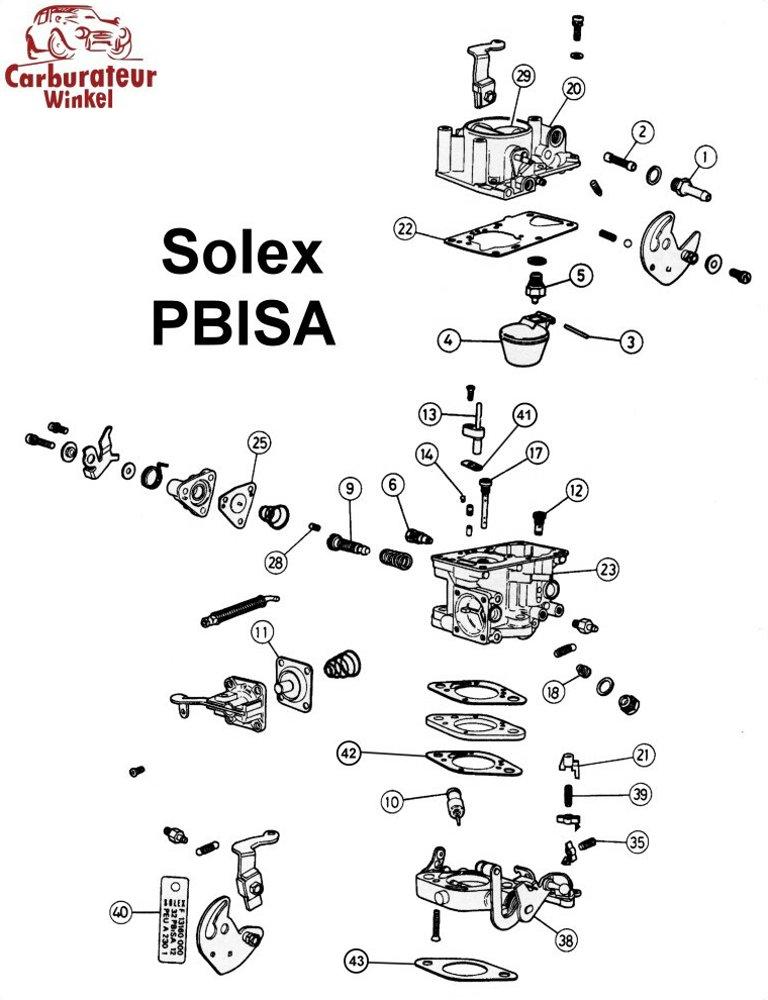 (25) Part-Load Enrichment Diaphragm Solex 32 PBISA 12
