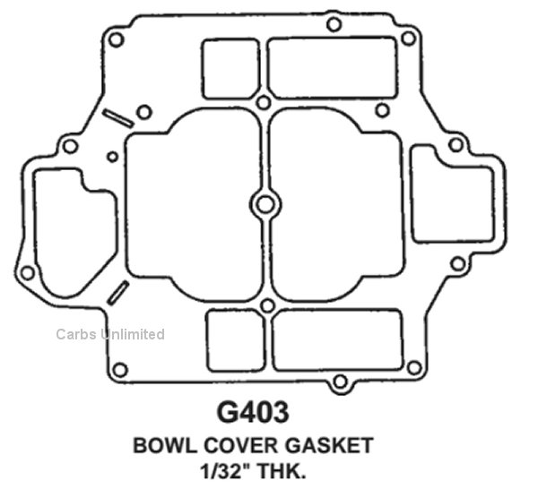 Rochester 4 Jet 4G 4GC Parts Page