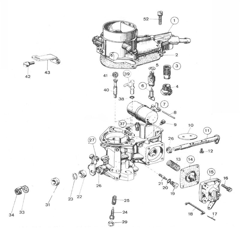 Weber 34 Ict Diagram 15290 035