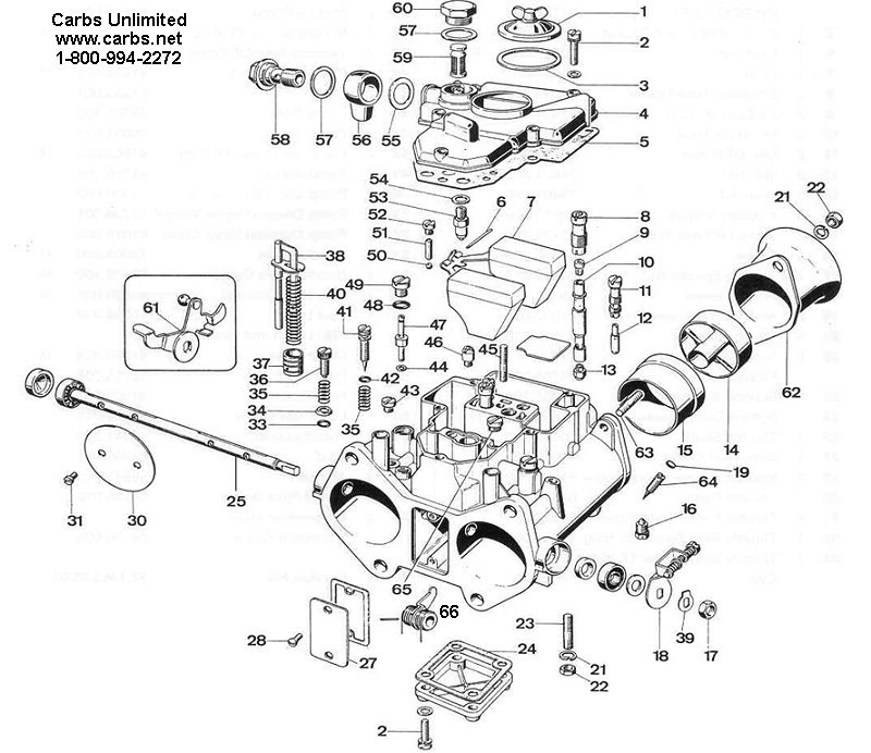Weber 55 DCO SP Diagram 19700.001 19700.002