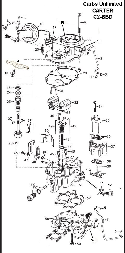 Carter C2 BBD Parts Page