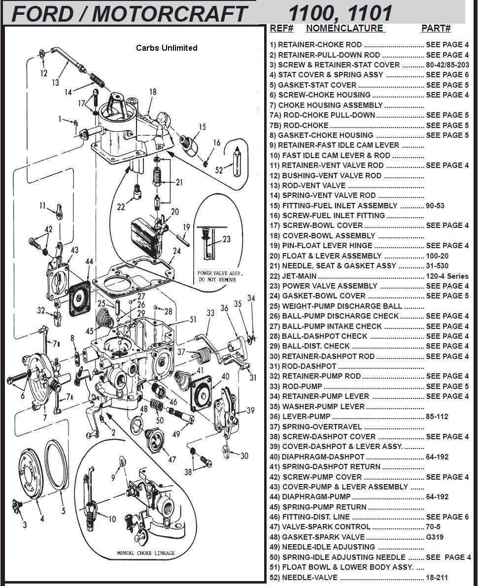 C4TF-BD Carburetor Info Page