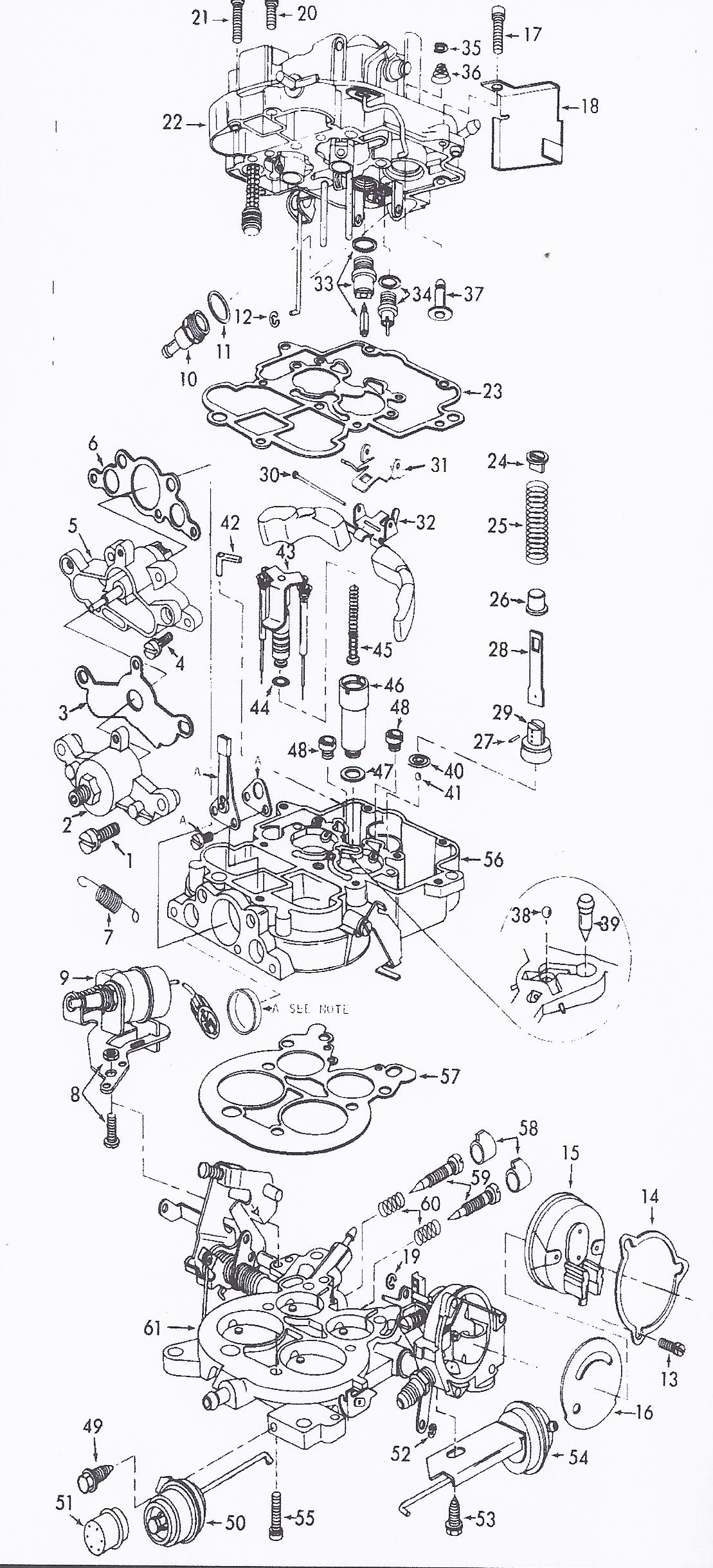 Autolite 4300 Exploded View