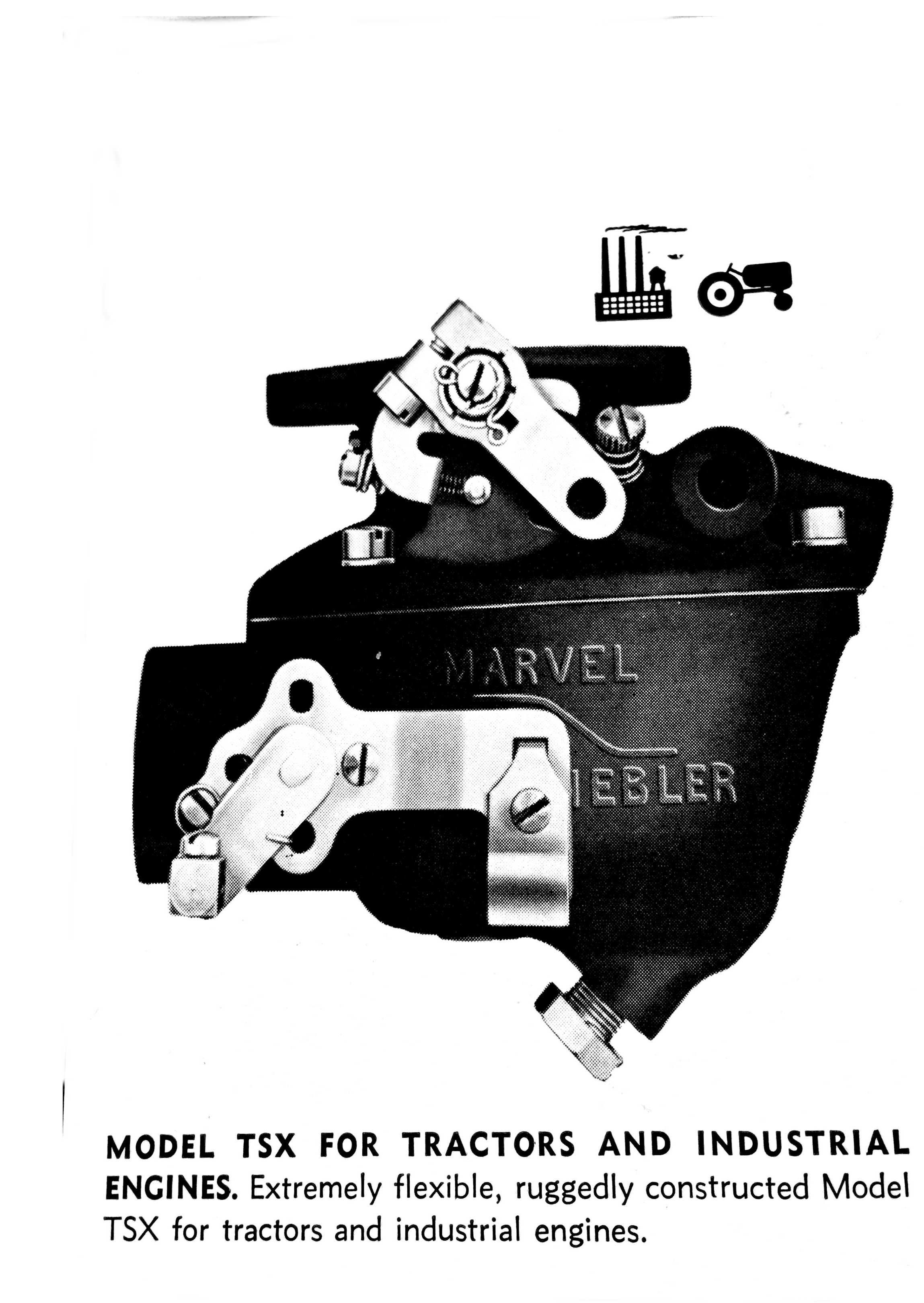 Marvel Schebler on Zenith Carburetors For Tractors