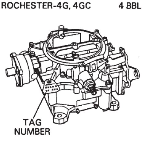 4 Barrel Carb Diagram, 4, Free Engine Image For User