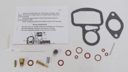 Zenith Agricultural Carburetor Kit