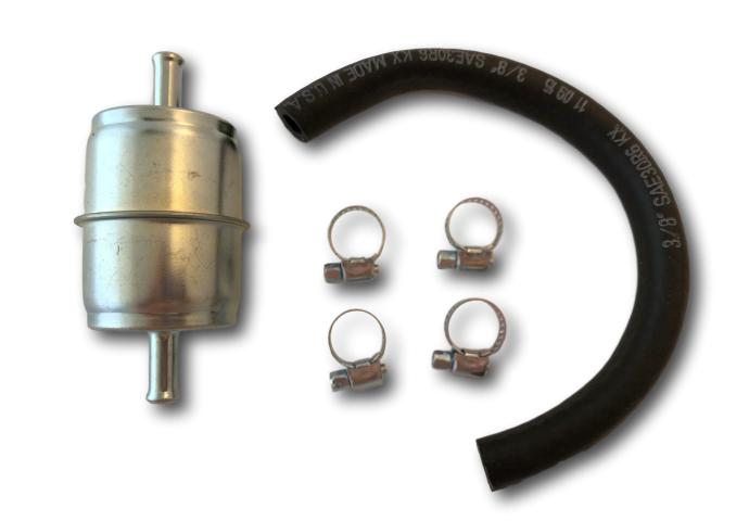 Metal Fuel Filter 3 8 Hose In Line Ff101