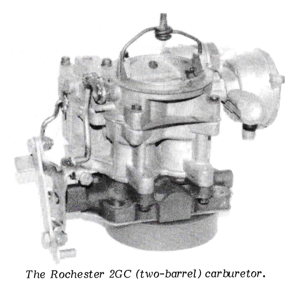 medium resolution of the 2 barrel carburetor is available in two different models 2gc and 2gv the model 2gv has an automatic choke with the thermostatic coil installed on the