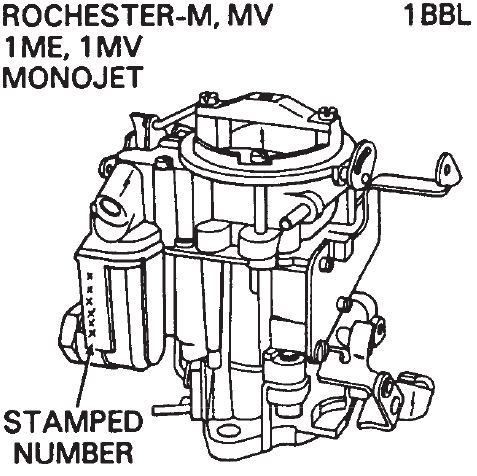 Rochester monojet manual