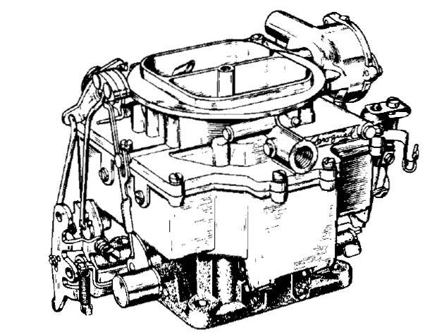 Stromberg 4A, 4 Barrel Carburetor Manual