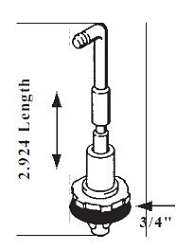 Rochester 4G 4GC Accelerator Pump Plunger Assembly