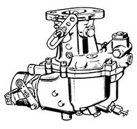 CK925 Carburetor Repair Kit for Zenith Model 63 Carburetors