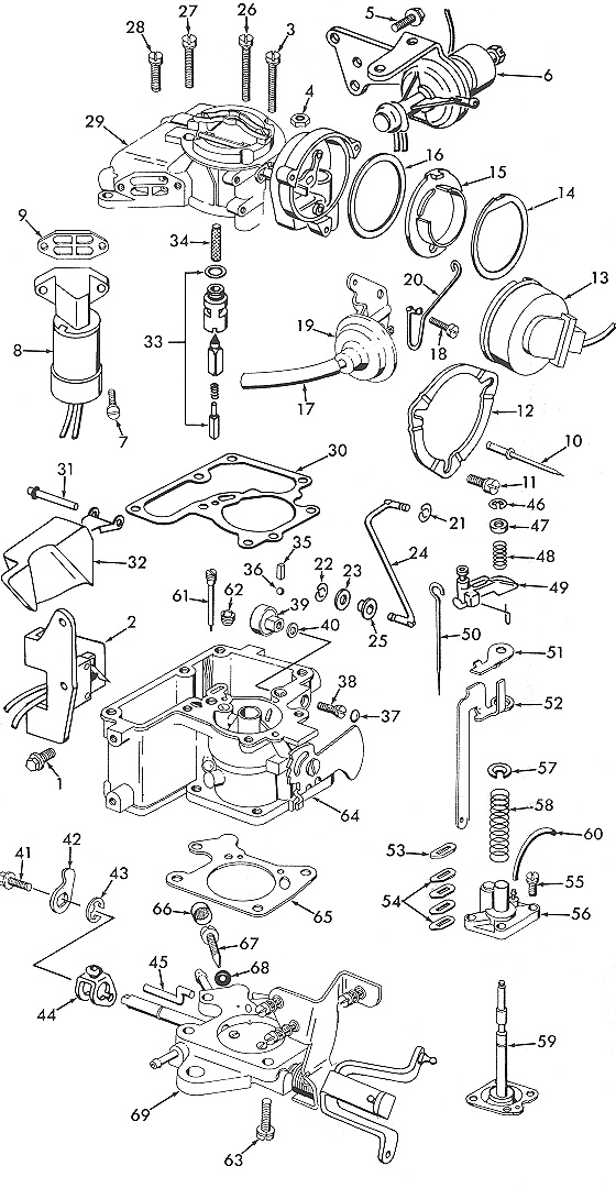 Edelbrock 1406 Rebuild Kit Instructions