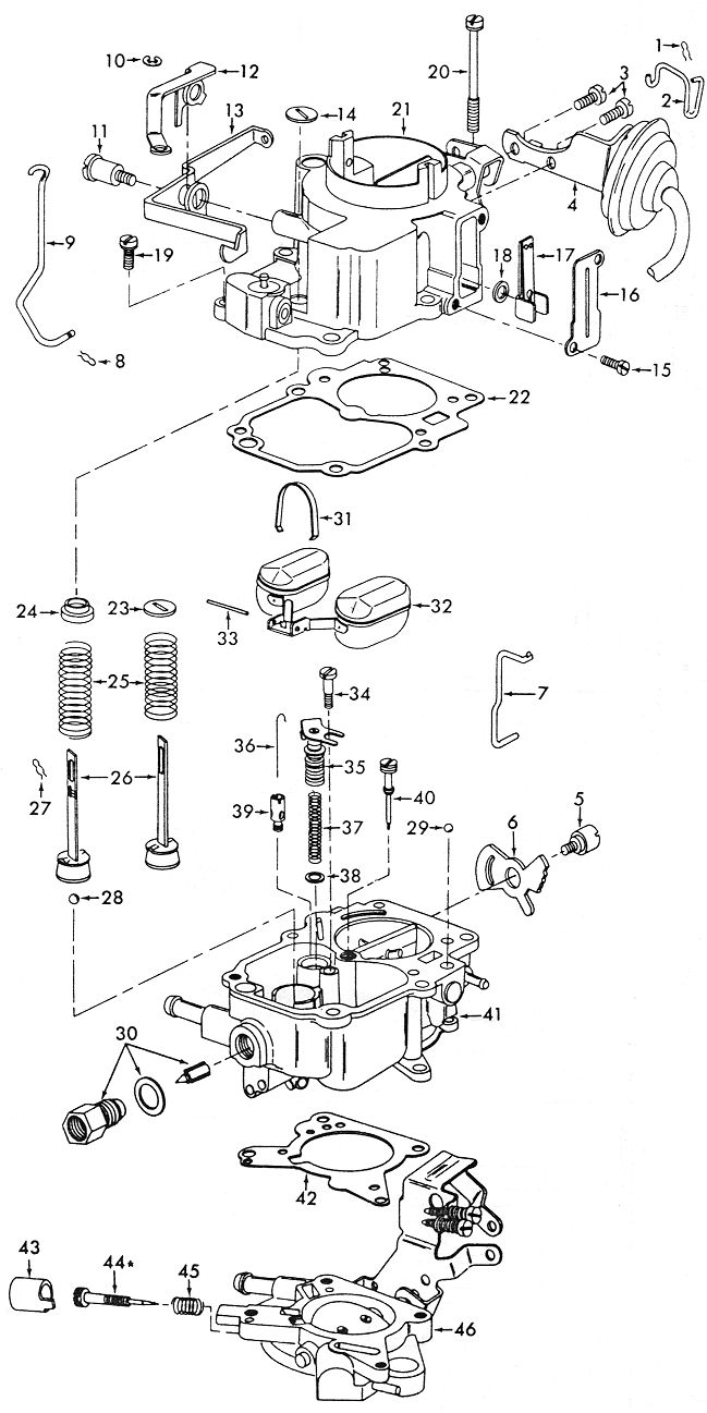 Diagrams Wiring : Vacuum Diagram Of Carter Carburetor