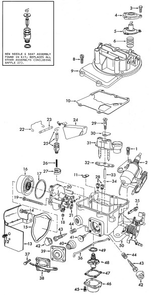 Motorcraft 2150 Carburetor Diagram  engineerxsonar