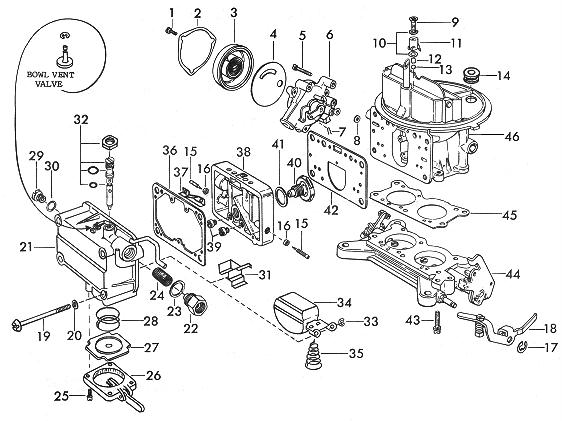 Holley Carburetor Fuel Filter Installation