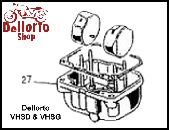 Dellorto VHSD and VHSG Carburetor Parts