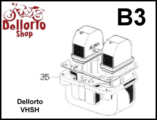 Dellorto VHSH Carburetor Parts