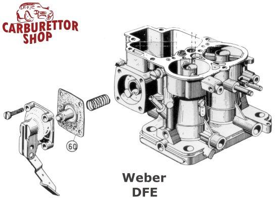 Weber DFE Carburetor Parts