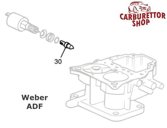 Weber ADF Carburetor Parts