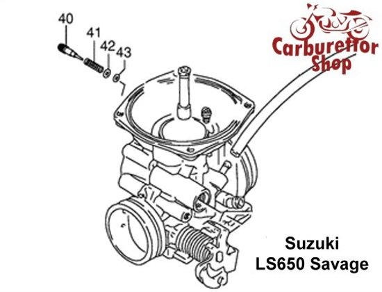 Suzuki LS 650 Carburetor Spare Parts Rebuild Kits and