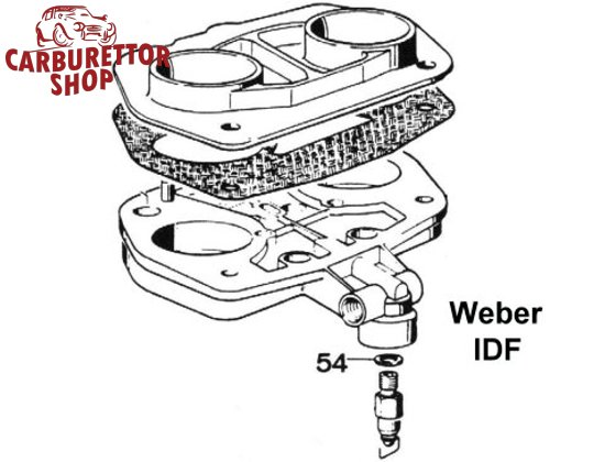 Weber IDF Carburetor Parts
