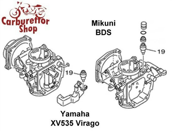 Mikuni BDS Carburetor Parts and Service Kits