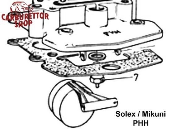 (7) Needle Valve for Solex PHH carburetors