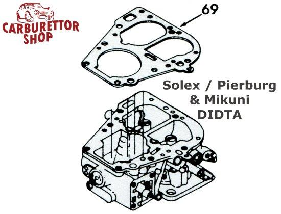 Solex Mikuni DIDTA Carburetor Parts