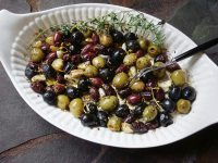HERB ROASTED OLIVES