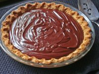 ANOTHER BENEFIT OF CHOCOLATE AND A LUSCIOUS CHOCOLATE TART
