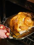ROAST TURKEY WITH BROWN SAUCE AND A TURKEY PRIMER
