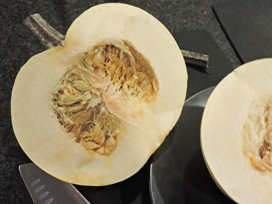 White Pumpkin Cut - White Pumpkin Pie (carbwarscookbooks.com)