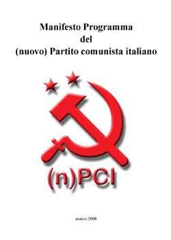 Manifesto ProgrammanPCI
