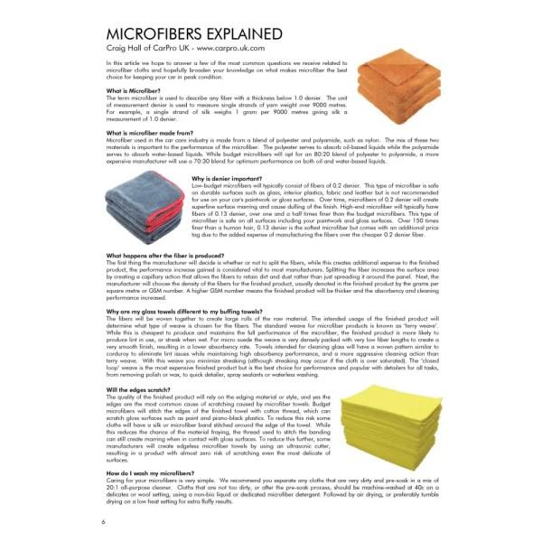 PRO Detailer Magazine - Nr. 1-2015 - Microfibres Explained