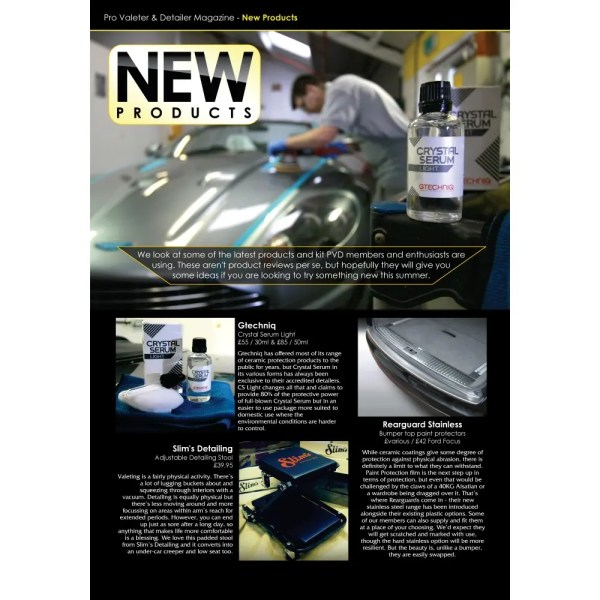 PRO Detailer Magazine - Nr. 3-2016 - New Products