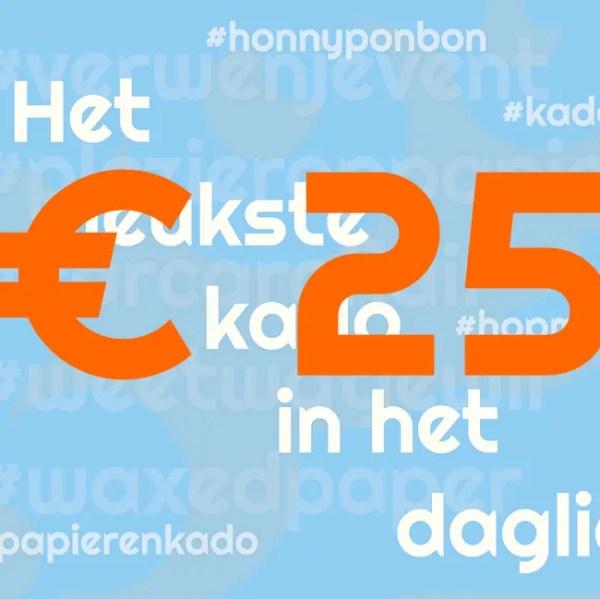CCNL - Kadobon - 25 euro - cadeautje