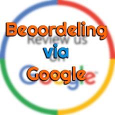 Laat een beoordeling achter op Google