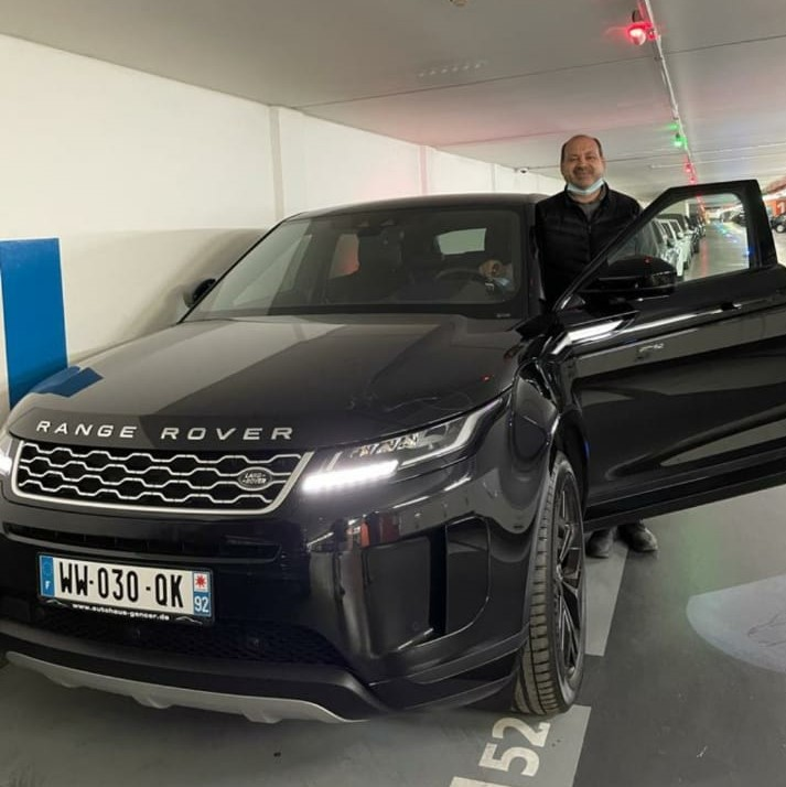 Client satisfait Importateur Range Rover Automobile Occasion Allemagne - Carcelle.com - Range Rover Evoque